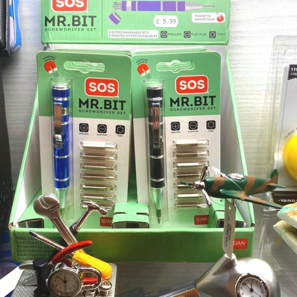 SOS Mr Bit Screwdriver sets