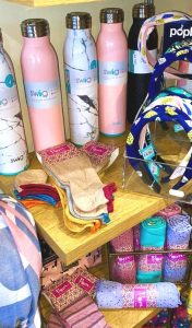 Swig Bottles and Pom Socks and scarves
