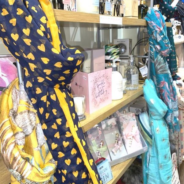 New scarves, candles and diffusers