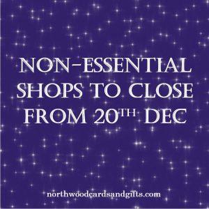 All non-essential shops closing