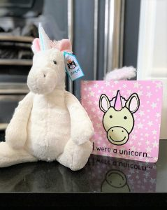 Jellycat Unicorn Soft Toy and Book