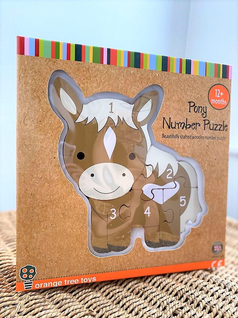 Orange Tree Horse Number Puzzle